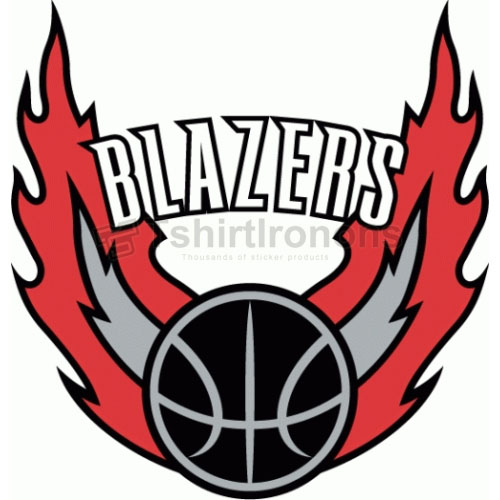 Portland Trail Blazers T-shirts Iron On Transfers N1173