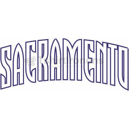 Sacramento Kings T-shirts Iron On Transfers N1178