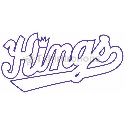 Sacramento Kings T-shirts Iron On Transfers N1179