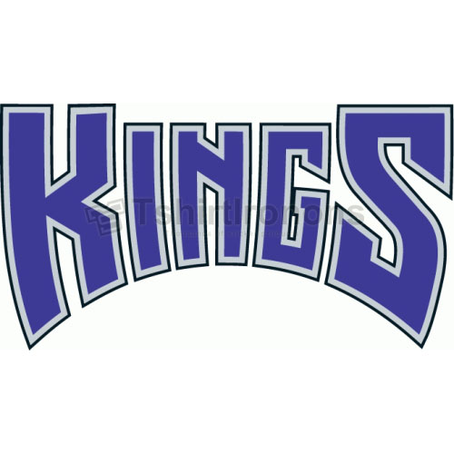 Sacramento Kings T-shirts Iron On Transfers N1182