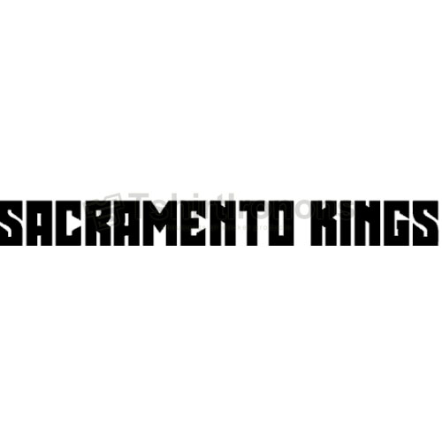 Sacramento Kings T-shirts Iron On Transfers N1183