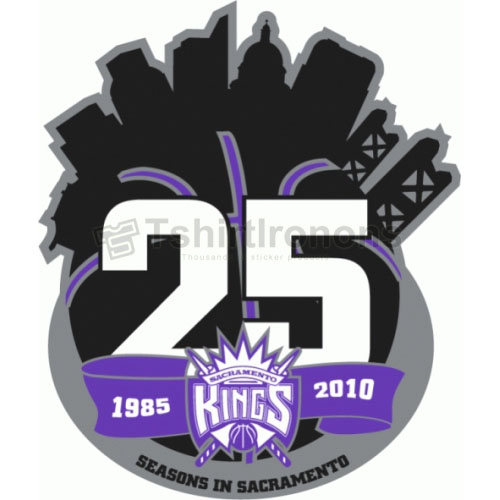 Sacramento Kings T-shirts Iron On Transfers N1185