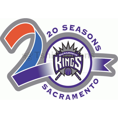 Sacramento Kings T-shirts Iron On Transfers N1186