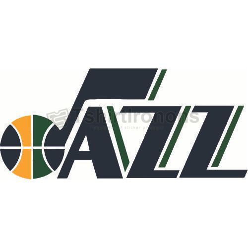 Utah Jazz T-shirts Iron On Transfers N1210