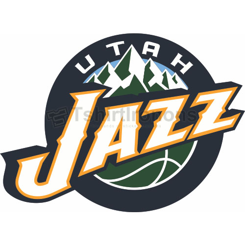 Utah Jazz T-shirts Iron On Transfers N1211
