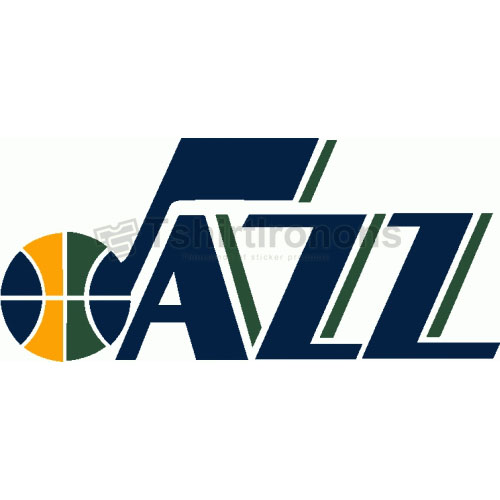 Utah Jazz T-shirts Iron On Transfers N1212