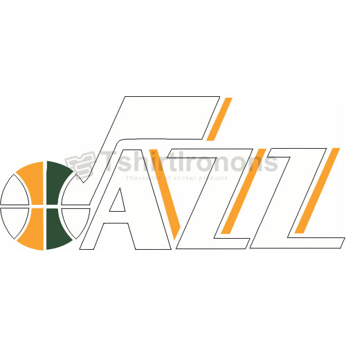 Utah Jazz T-shirts Iron On Transfers N1213