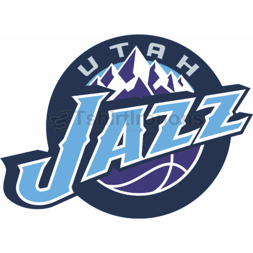 Utah Jazz T-shirts Iron On Transfers N1217