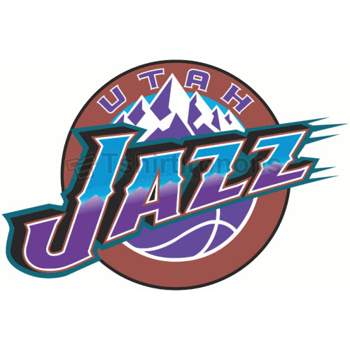 Utah Jazz T-shirts Iron On Transfers N1218