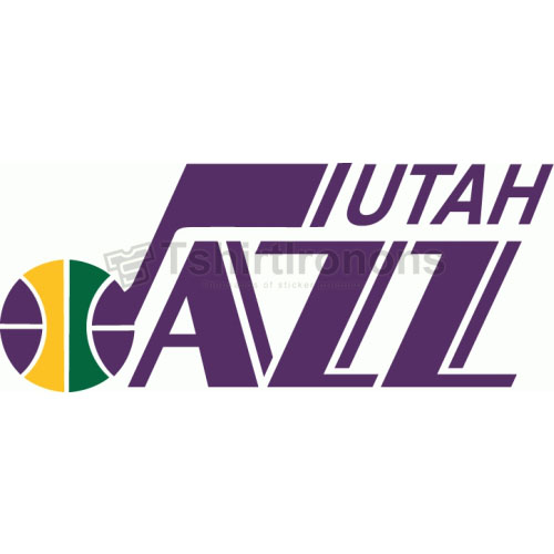 Utah Jazz T-shirts Iron On Transfers N1219