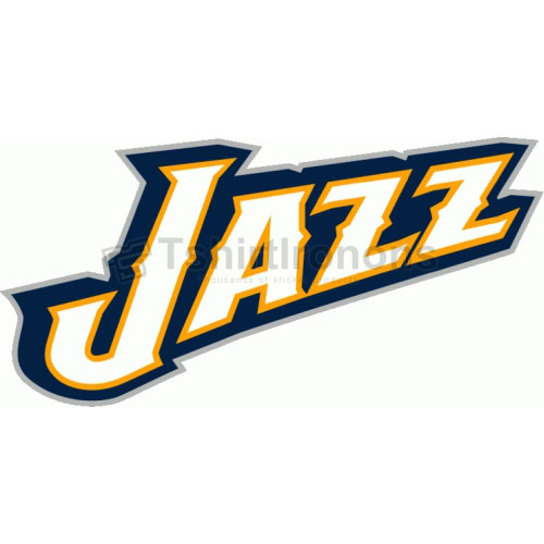 Utah Jazz T-shirts Iron On Transfers N1220