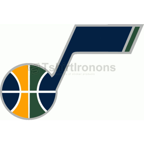 Utah Jazz T-shirts Iron On Transfers N1221