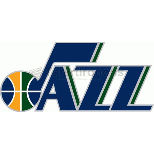 Utah Jazz T-shirts Iron On Transfers N1222