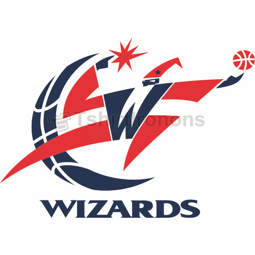 Washington Wizards T-shirts Iron On Transfers N1230