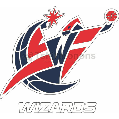 Washington Wizards T-shirts Iron On Transfers N1238