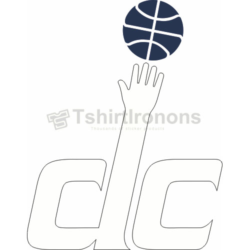 Washington Wizards T-shirts Iron On Transfers N1239