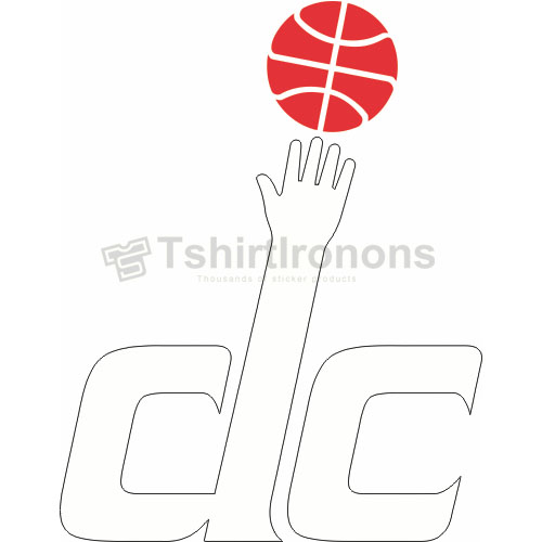 Washington Wizards T-shirts Iron On Transfers N1240