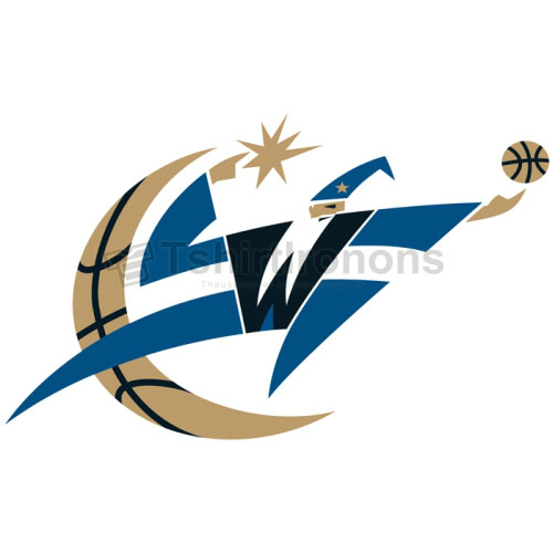 Washington Wizards T-shirts Iron On Transfers N1245