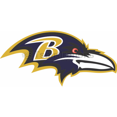Baltimore Ravens T-shirts Iron On Transfers N406