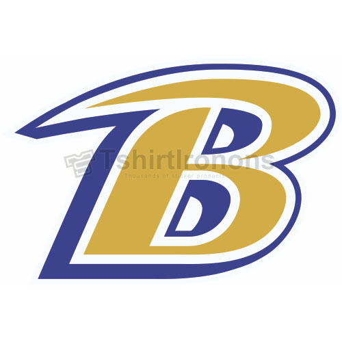 Baltimore Ravens T-shirts Iron On Transfers N407
