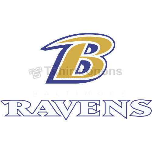 Baltimore Ravens T-shirts Iron On Transfers N409