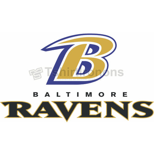 Baltimore Ravens T-shirts Iron On Transfers N410