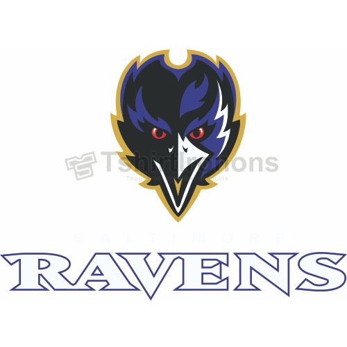Baltimore Ravens T-shirts Iron On Transfers N411