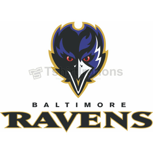 Baltimore Ravens T-shirts Iron On Transfers N412