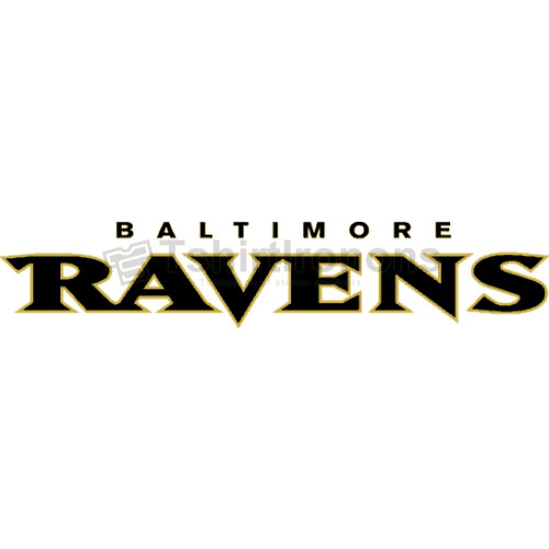 Baltimore Ravens T-shirts Iron On Transfers N416