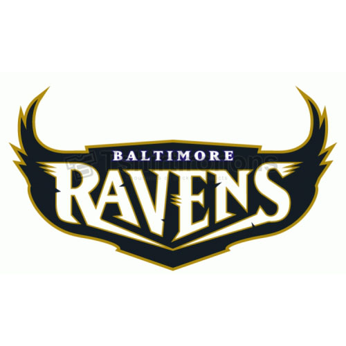 Baltimore Ravens T-shirts Iron On Transfers N418