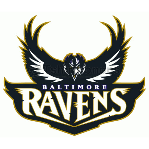 Baltimore Ravens T-shirts Iron On Transfers N420