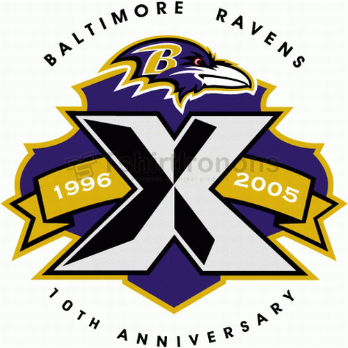 Baltimore Ravens T-shirts Iron On Transfers N421