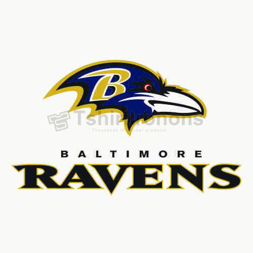 Baltimore Ravens T-shirts Iron On Transfers N423