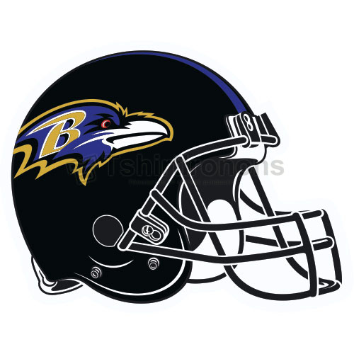 Baltimore Ravens T-shirts Iron On Transfers N426