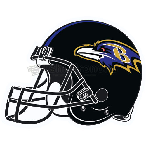Baltimore Ravens T-shirts Iron On Transfers N427