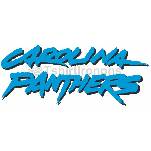 Carolina Panthers T-shirts Iron On Transfers N445
