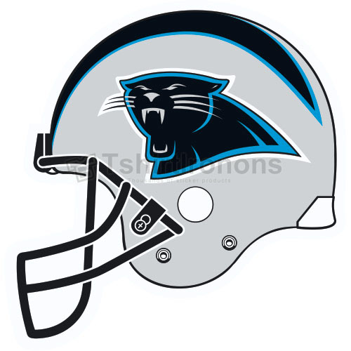 Carolina Panthers T-shirts Iron On Transfers N446