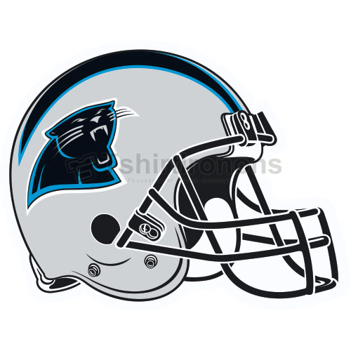 Carolina Panthers T-shirts Iron On Transfers N447