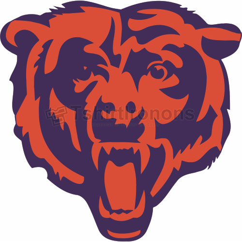 Chicago Bears T-shirts Iron On Transfers N454