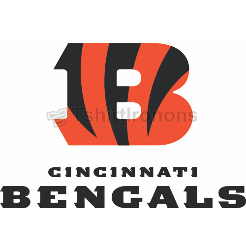 Cincinnati Bengals T-shirts Iron On Transfers N470