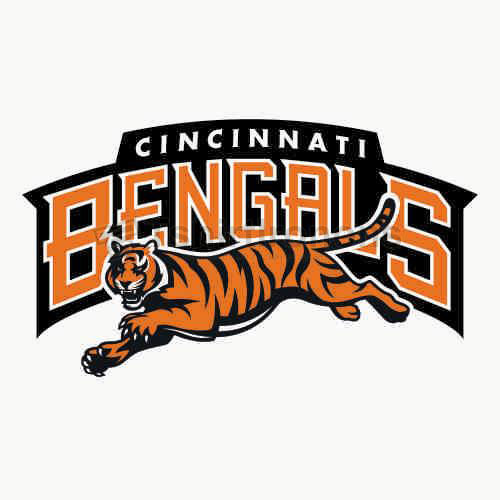 Cincinnati Bengals T-shirts Iron On Transfers N474