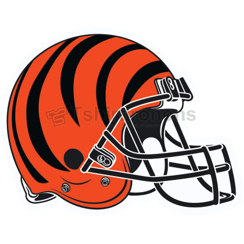 Cincinnati Bengals T-shirts Iron On Transfers N477
