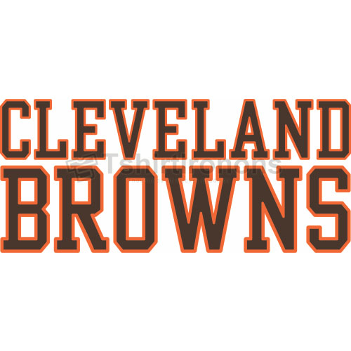 Cleveland Browns T-shirts Iron On Transfers N480
