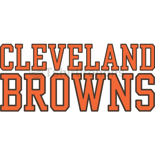 Cleveland Browns T-shirts Iron On Transfers N481