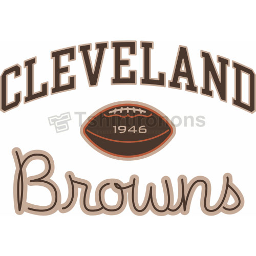 Cleveland Browns T-shirts Iron On Transfers N482