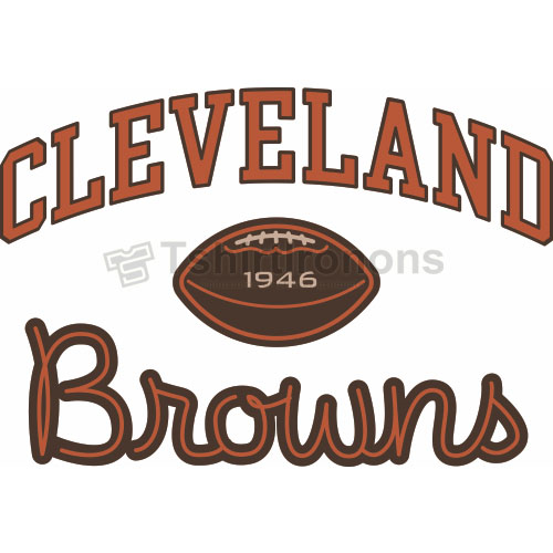 Cleveland Browns T-shirts Iron On Transfers N483