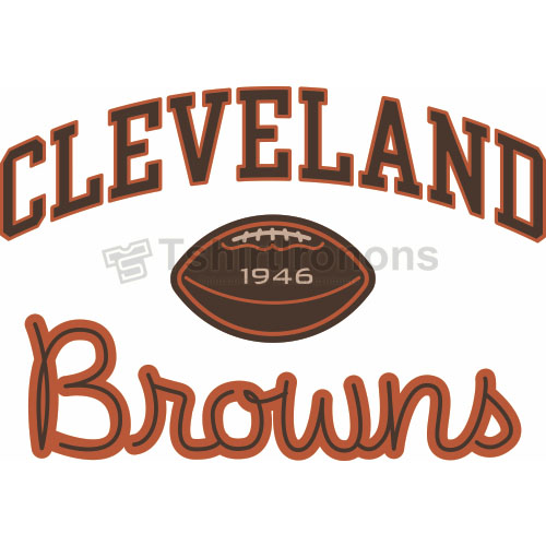 Cleveland Browns T-shirts Iron On Transfers N484
