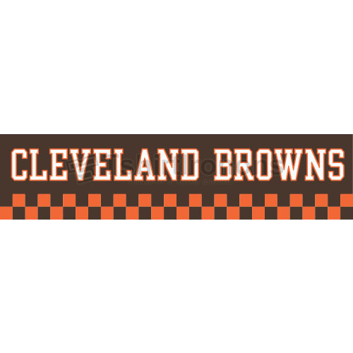 Cleveland Browns T-shirts Iron On Transfers N485