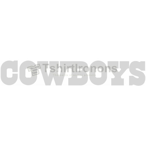 Dallas Cowboys T-shirts Iron On Transfers N494