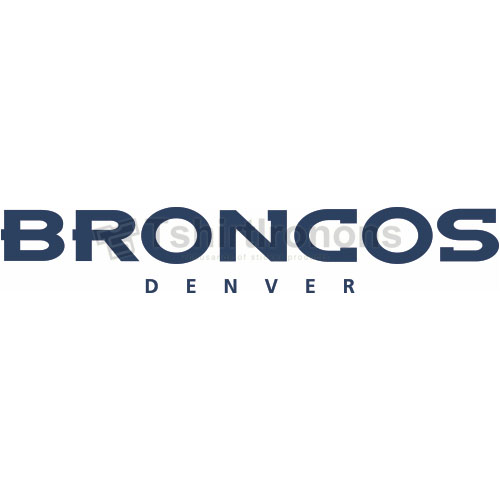 Denver Broncos T-shirts Iron On Transfers N502